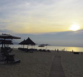 Da Nang's beach